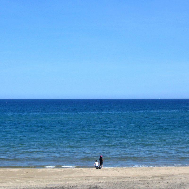 夏の海、秋の海