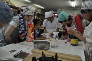 15日の和菓子教室