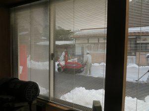 落ち着いた雪