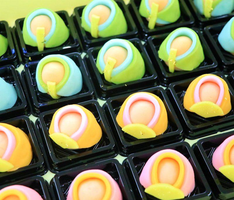 お雛さんの和菓子